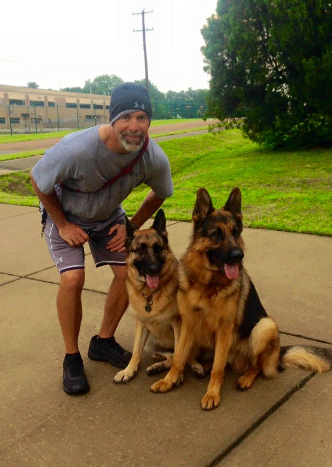 Retired SEAL John Sanabia with Warrant and Spike